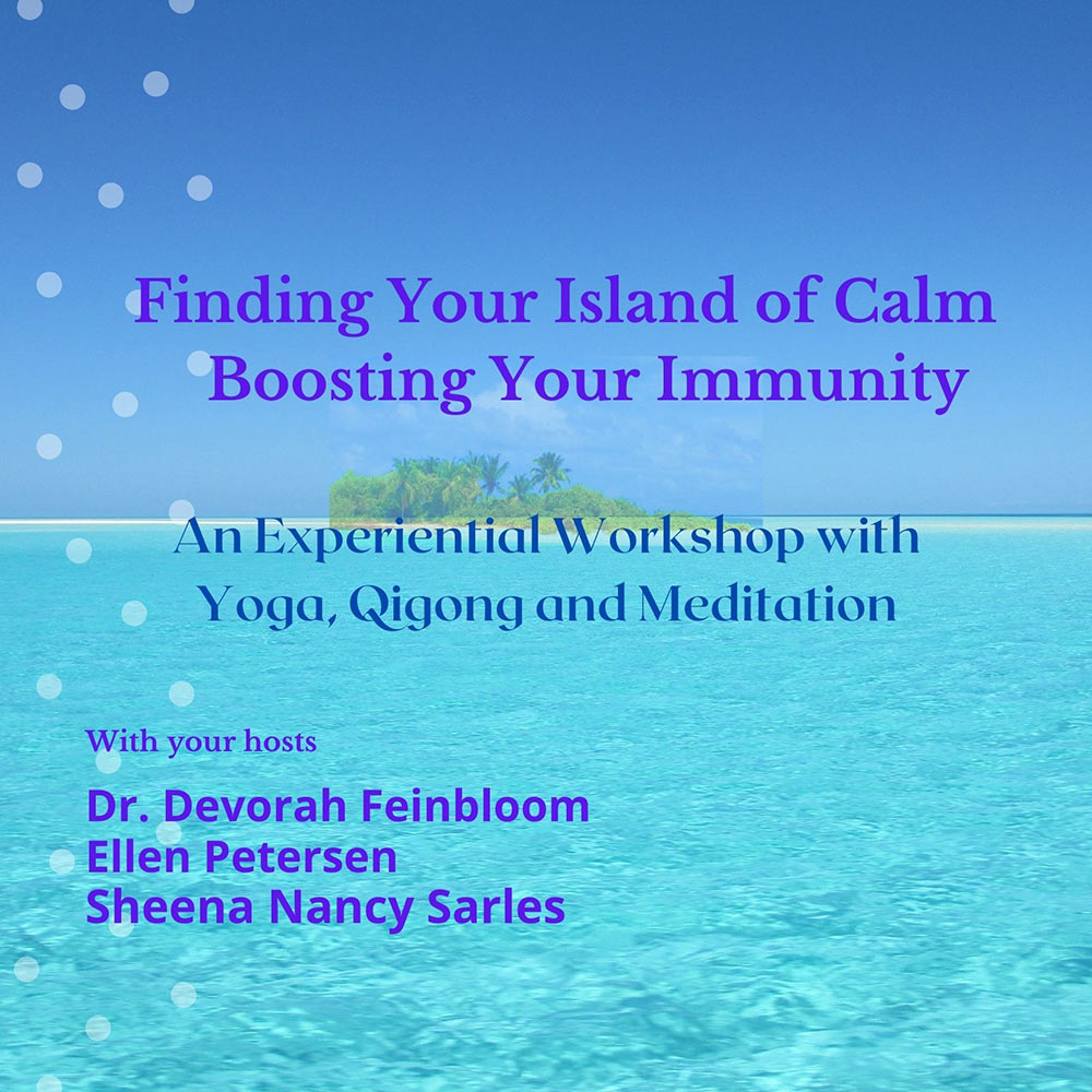 finding your island of calm meditation qigong event
